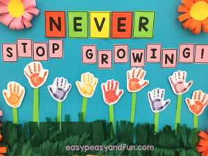 DIY Spring Bulletin Board Idea for Smart Kids