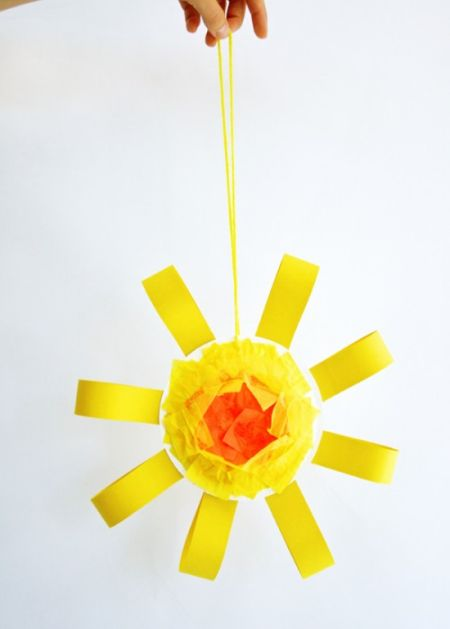 Diy Sun Mobile Craft Simple Summer Craft Project For Kids