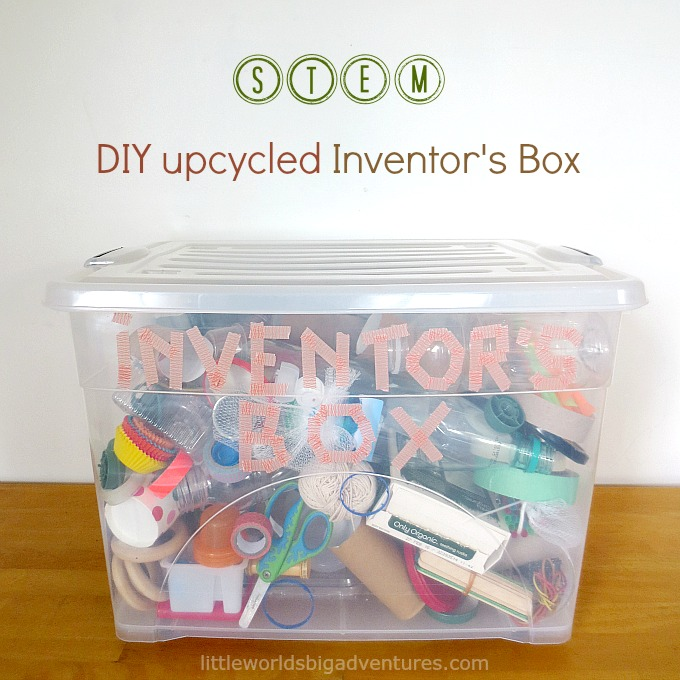 Upcycled Inventor's Box: A DIY Stem Activity for Preschoolers
