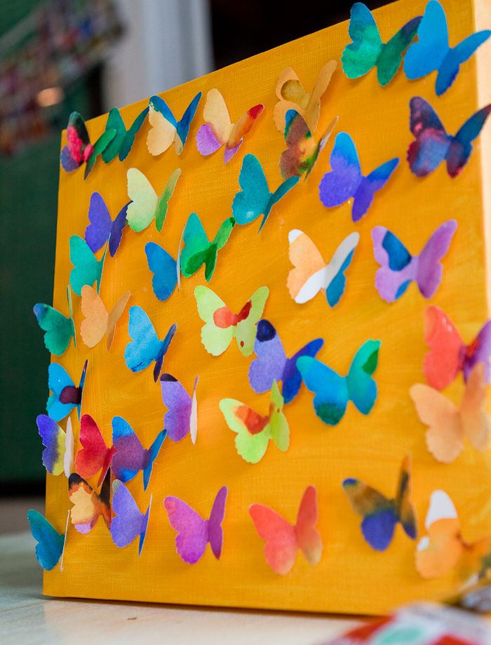 3D Paper Butterfly Wall Art: Whimsical DIY Craft Idea for Preschoolers