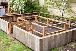 Easy Tutorial of A SImple Raised Bed with Amenities By A Taste of the Earth
