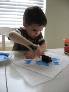 Fine Motor Play Activity with Architectural Touch: Drawing and Painting Tutorial of Building Str ...