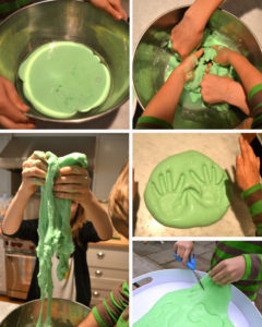 Simple Flubber Recipe for Kids with Suitable Food Coloring: A DIY Project for Crafting Playing O ...