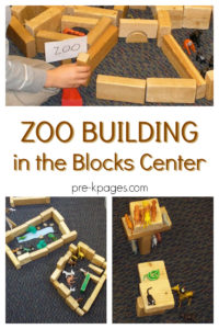 How to Build a Zoo in the Blocks Center: A Wonderful Fine Motor Skill Activity with Miniature An ...