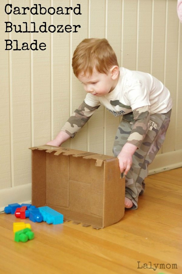 DIY Cardboard Craft Bulldozer Blade Toy: The Ultimate Construction Project with Hard Cardboard Box
