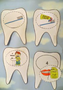 Childhood Education Resources: Crafty Project to Demonstrate Caring Teeth Properly