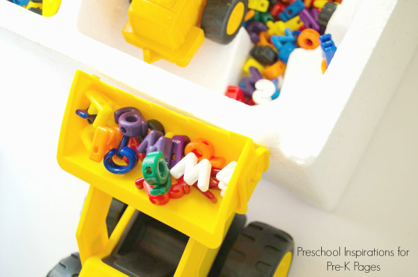 Construction Site Alphabet Dig: A Smart Combined Sensory Activity with Vehicles and Alphabet