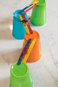 The Easiest Way of Building Bridge: Craft Stick Bridge Building Activity for Preschoolers