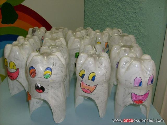 Easy Diy Dental Craft Idea For Kids Repurposed Plastic