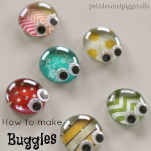 Totally Cute DIY Buggles with Large Googly Eyes: Simple Summer Craft with Buttons