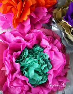 Bold and Beautiful Tissue Paper Flowers: A Perfect Tutorial For DIY Craft with Easy-to-Follow In ...