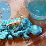 Dinosaur Scrubbing Activity with Sugar, Spice, and Glitter: A Montessori Biological Project