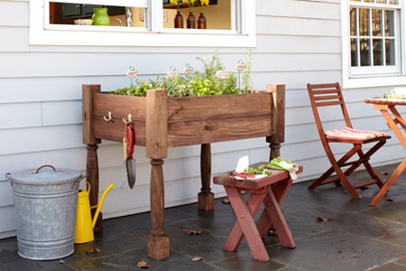Super Simple Tutorial of Raised Herb Garden Planter in Elevated Quality