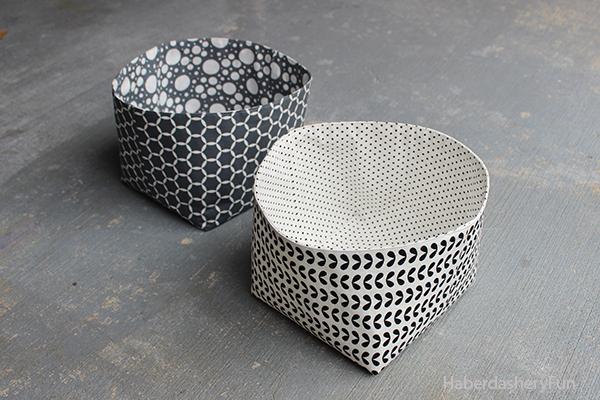 DIY Reversible Fabric Storage Bin: Quick-to-Make Organizer