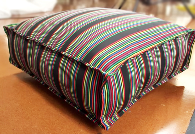 Easy DIY Outdoor Cushion Covers with Polyester and Decorative Fabric