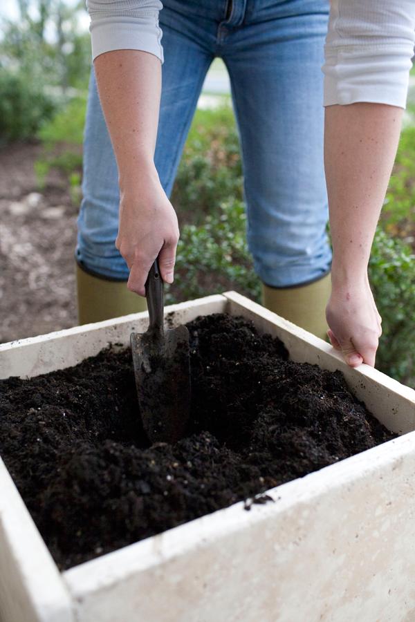 Easy-to-Prepare DIY Stone Planter Tutorial with Concrete Squares