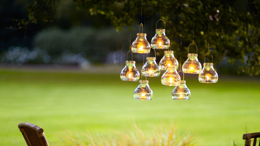 Whimsical Garden Projects: DIY Lighting By Sunset Magazine