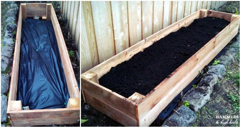 Memorial Day Mini Project- DIY Raised Garden Beds for Outdoor Garden Areas