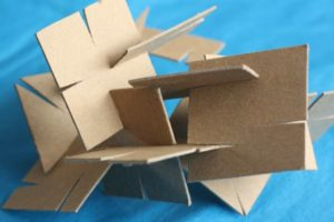 Homemade Cardboard Construction Set: A Super Creative Fine Motor Activity By Happy Hooligans