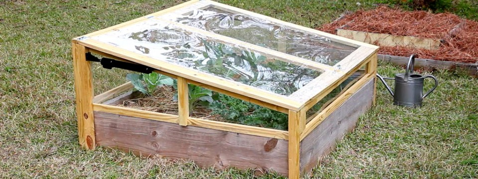 Simple Tutorial of How to Build a Raised Bed with Benches