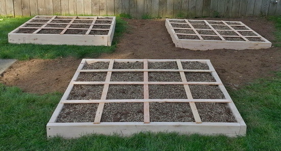 How To Build A Square Foot Garden Bed- Easy Do It Yourself