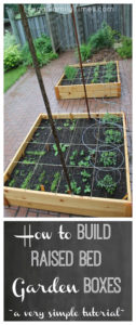 How to Build Raised Garden Boxes DIY for Vegetable Gardening By Frugal Family Times