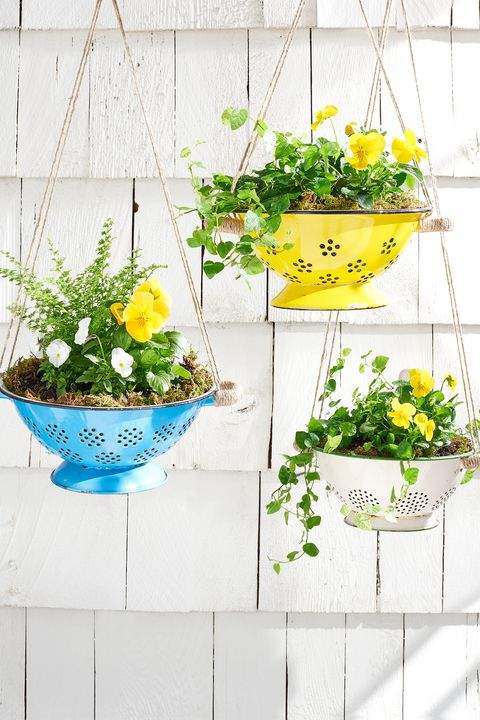 DIY Colander Planter: Easy Tutorial of How to Make Your Porch Charming with Hanging Planters