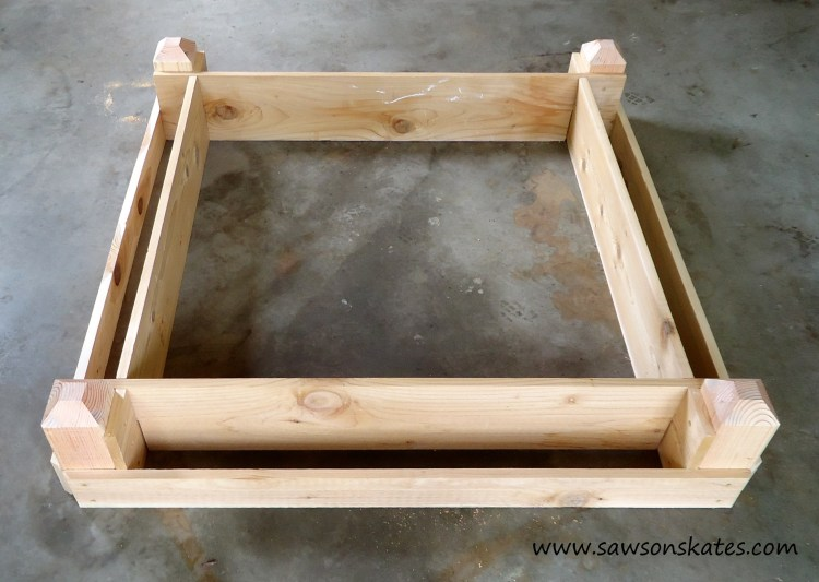 Complete Tutorial of How to make a DIY Raised Garden Bed for Small Garden Areas