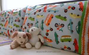 DIY Pillowcase Using the Burrito Method with French Seams