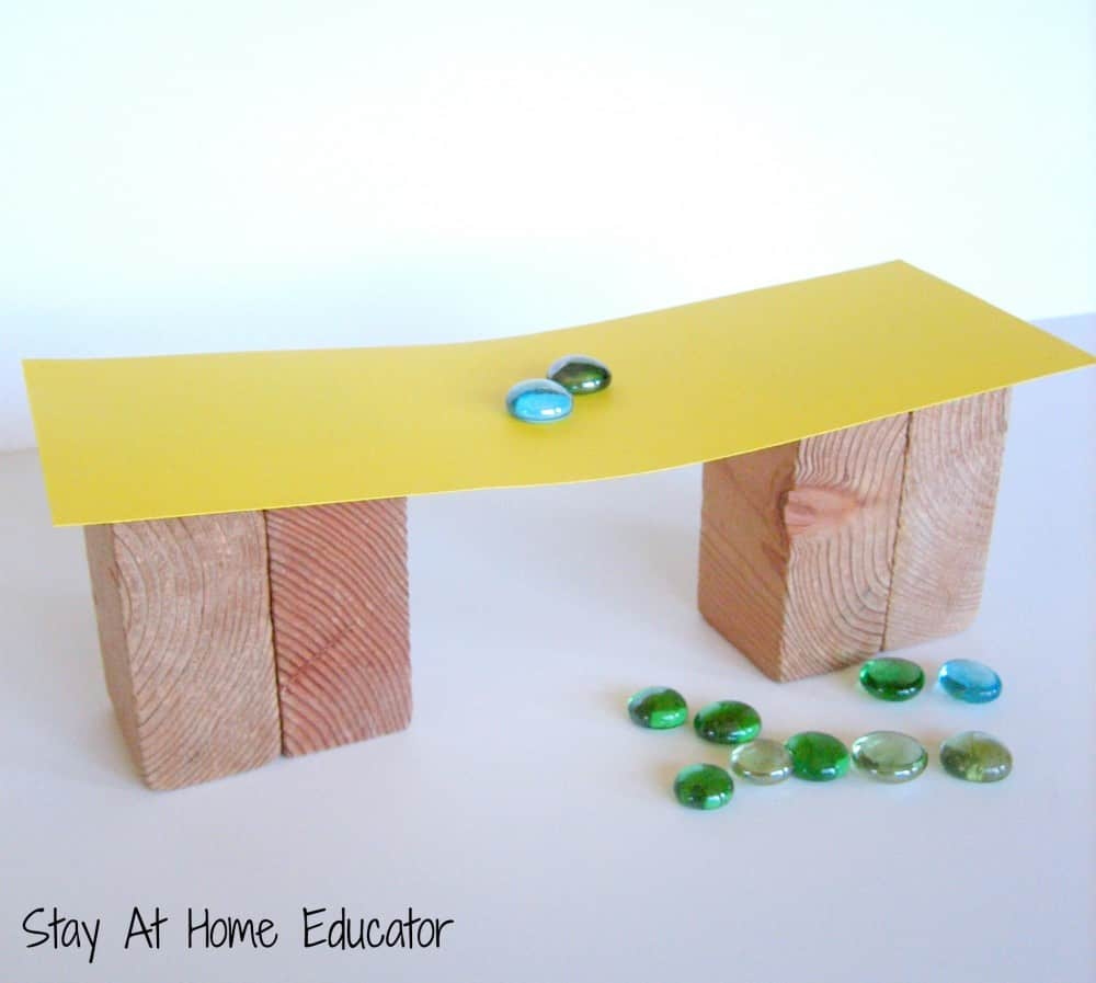 Simplest Way of Constructing DIY Bridge with Plain Crafting Materials for Preschoolers