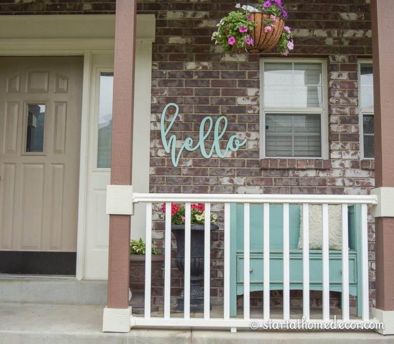 Impactful Front Porch Decor Idea to Add Curb Appeal to Your Entrance: DIY House Adornment