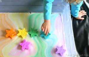 Magic Foaming Treasure Stars: Sparkling DIY Craft from Foaming Dough