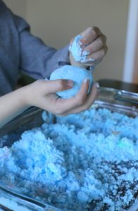Magic Puffing Snow Recipe with Citric Flavor: An Intelligent Summertime Project Idea for Toddlers
