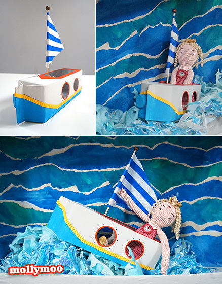 The Story of A 'Putt Putt Boat' By MollyMooCrafts: An Exciting Craft Idea for Advent ...