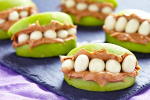 Monster Mouth Snacks for Kids: A Quick-to-Prepare Snack Idea for Dental Health Month
