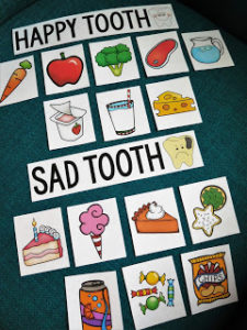 Cute and Fun Dental Project Idea for Kids about Cavity and Dental Health with Free Printable Tem ...