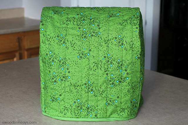 Reversible Kitchen Mixer Cover with Paddy Quilting Fabric