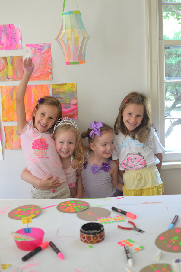 Messy Scrape Painting Project with Kids: A Summertime Fun Activity