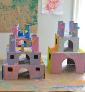 Shoe Box Princess Castles: A Super Creative Art Craft Idea Through Useful Recycling Process