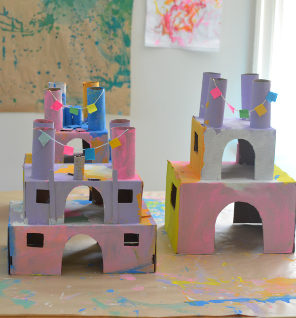 Shoe Box Princess Castles: A Super Creative Art Craft Idea