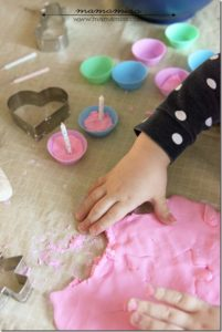 DIY Summer Activity: Playful Craft with No-Cook Playdough in Strawberry Flavor
