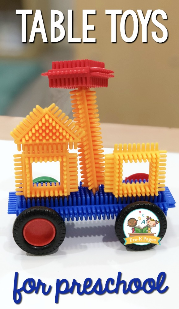 DIY Table Toys for Preschoolers: Wonderful Construction Activity Idea for Kids with Duplo Bricks ...