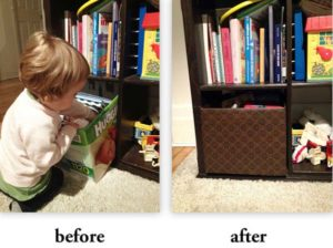 DIY Storage Box Idea: A Diaper Box Turn Trendy Storage Space with Pretty Contact Paper Coating