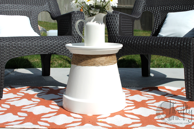 DIY Projects and Home Decor for Garden Area: Creative Centerpiece withTerracotta Pot