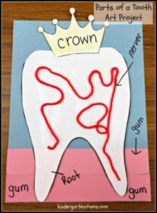 DIY Tooth Craft Idea: Ultimate List Of Dental Health Activities For Toddlers