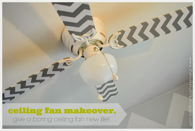 DIY Decor Idea of Fan Blades with Contact Paper: An Inexpensive Makeover Challenge