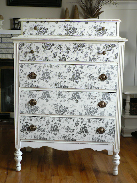Contact Paper Miracle: DIY Dresser Front Decorate with Stylish Contact Paper