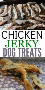 Chicken Jerky Homemade Dog Treats