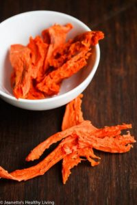 Healthy Homemade Sweet Potato Banana Chicken Dehydrated Dog Treats
