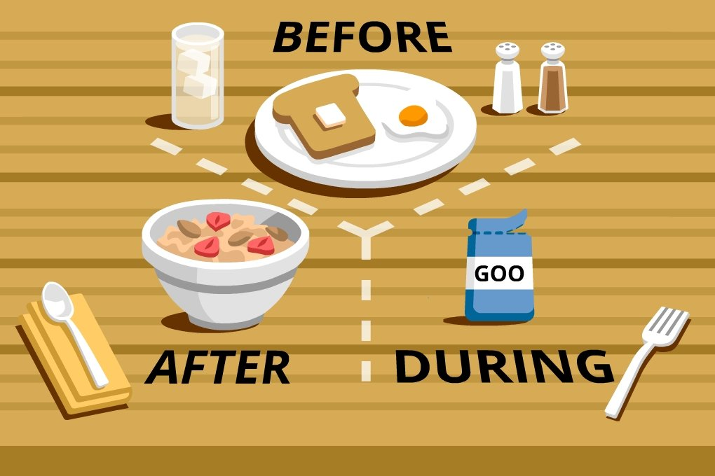 Healthy Eating for Runners: Before After Best Foods